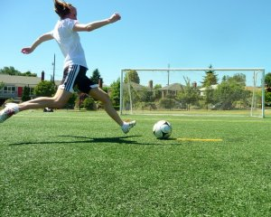 Lorna Soccer Kick