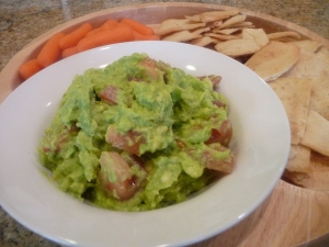 Super Bowl Healthy Guacamole