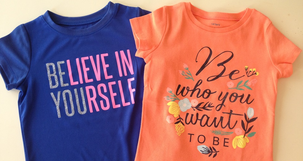 Carters Girl Spring Tee Inspirational