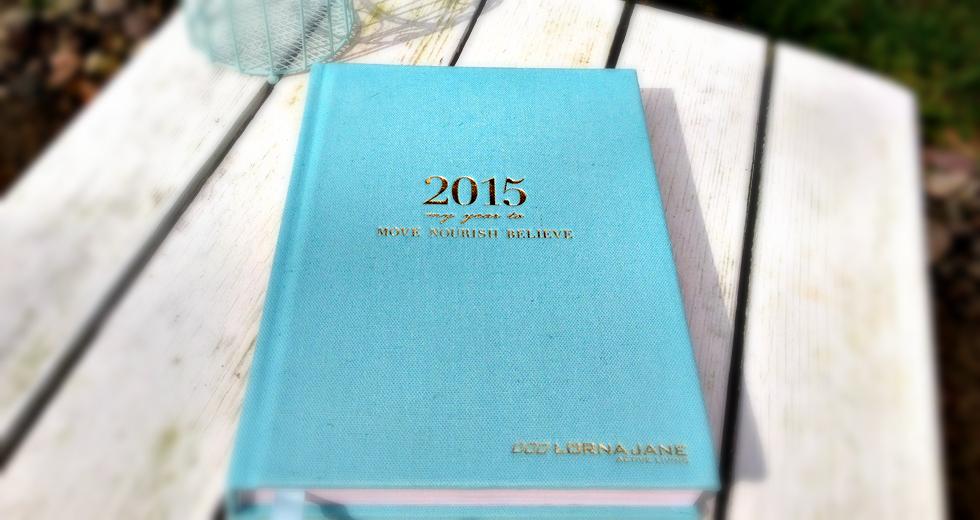 Lorna Jane Active Diary Journal Move Nourish Beleive