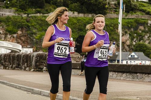 Women Fun Run Exercise Active Fitness Beginner