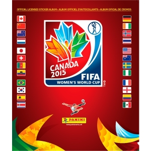 Women's World Cup Sticker book