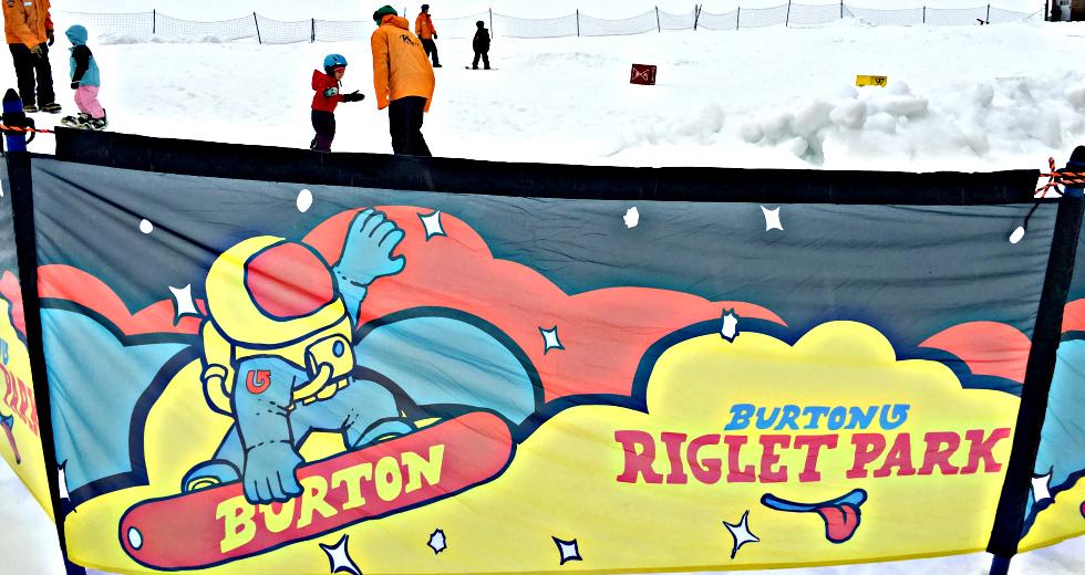 Burton Snowboards Riglet Park Kids Lessons