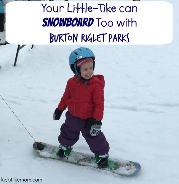 Burton Snowboarding Riglet park Lessons Kids