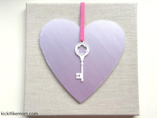 Heart Key Watermark