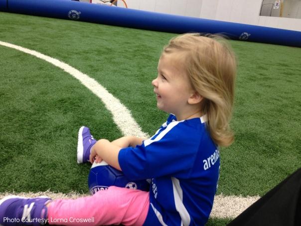 Little Kickers Soccer Girl