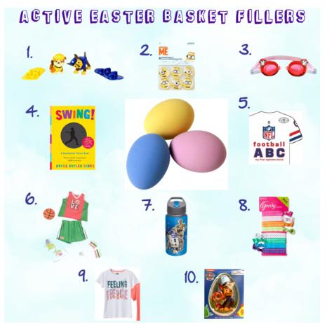 Active Easter Basket Fillers Kids Fitness Healthy