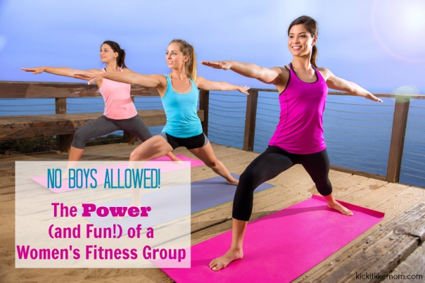 Women Group Fitness Workout Graphic FB
